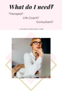 therapist coach or consultant