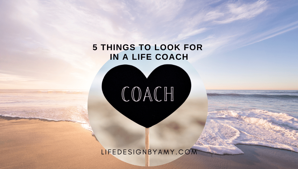 look for a life coach