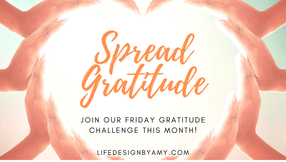 gratitude challenge welcome
