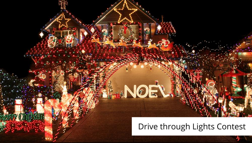 drive through lights contest