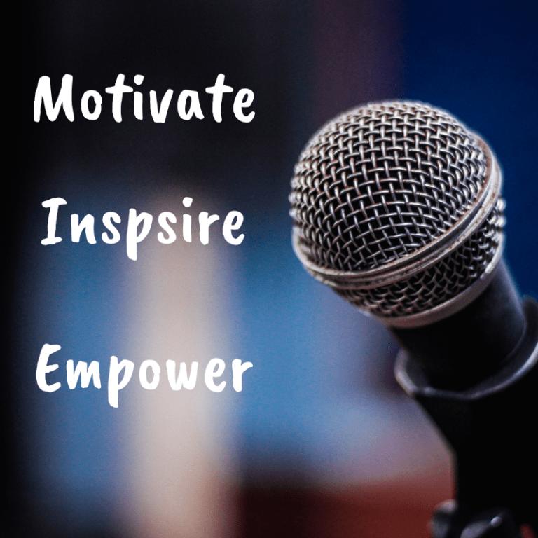 Motivate Inspire Educate