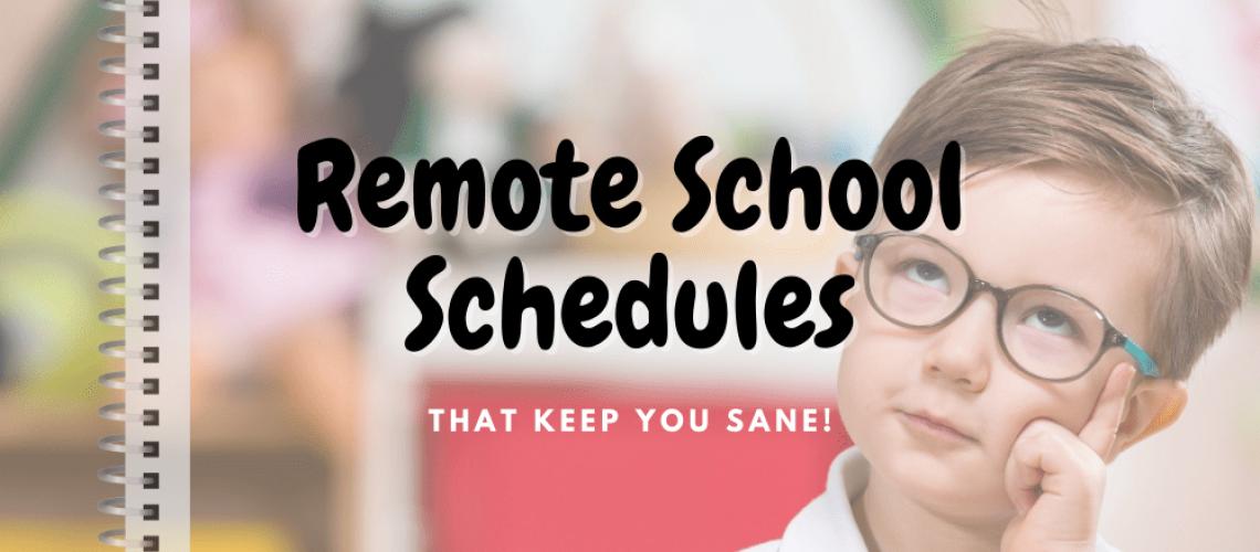 Remote Schedules